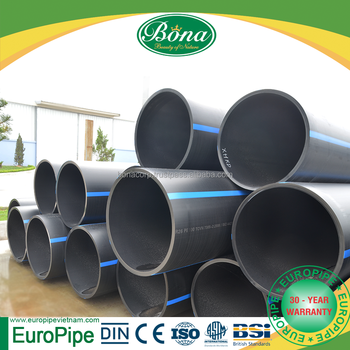 Factory price pe pipe price list/hdpe pipe water supply/germany quality