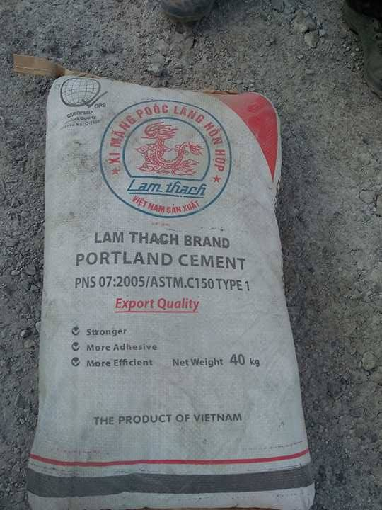LAM THACT CEMENT BRAND, NICKEL ORE, BANANA CAVINDISH,
