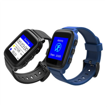 Newest High Quality China Suppliers Dynamic Heart Rate Sensor 40days standby Bluetooth Sport Smart Watch