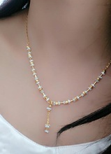 New Designer Fully Ad Diamond Daily Wear Mangalsutra Jewelry