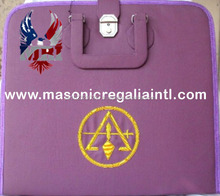 Masonic Purple Royal And Select Apron Cases