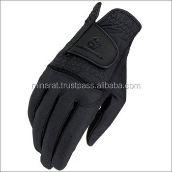 Synthetic Leather Customize Horse Riding Gloves of Equestrian