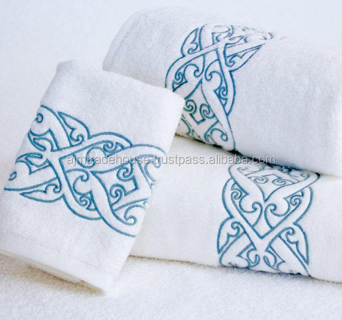Luxury Hotel & Spa Bath Towel 100% Genuine Cotton,White: Home & Kitchen