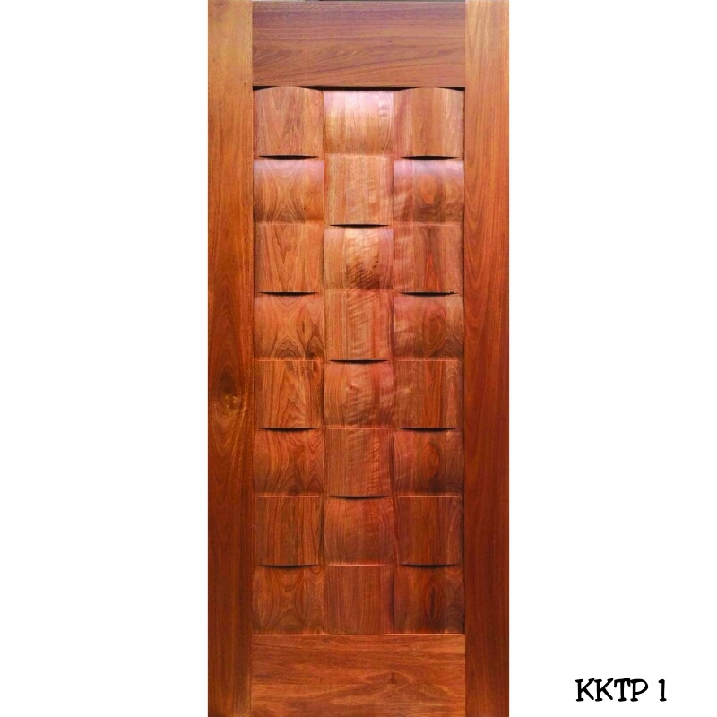 Designer Solid Decorative Wooden Door Single Leaf Door