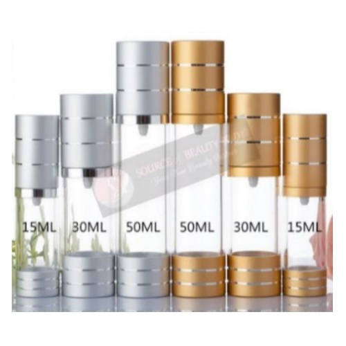 Airless Lotion Cosmetic Acrylic Bottle Malaysia
