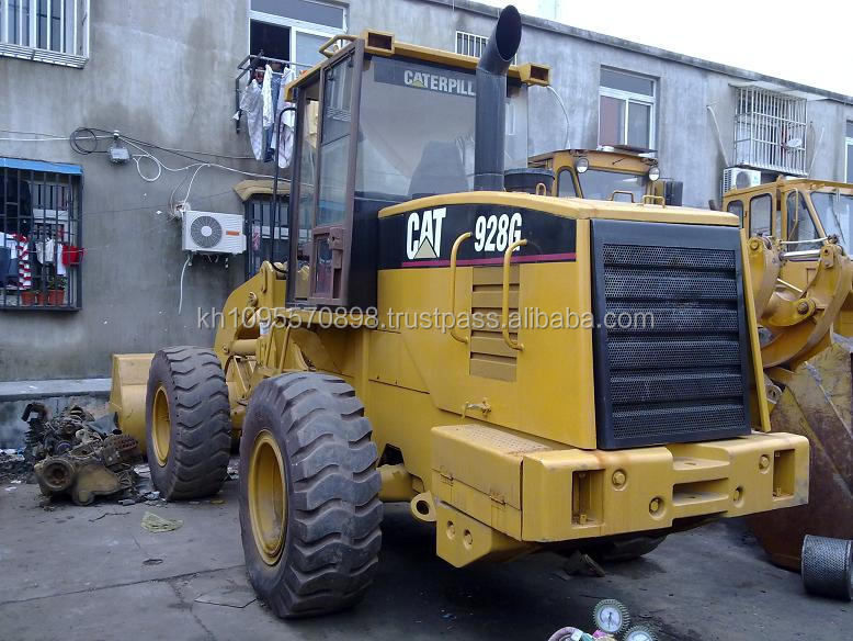 Japan used CAT 928G Wheel loader for sale. caterpillar wheel loader 928G . Fine and Cheap