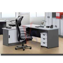 Office furniture made in Malaysia - Economy office desk (MFC)