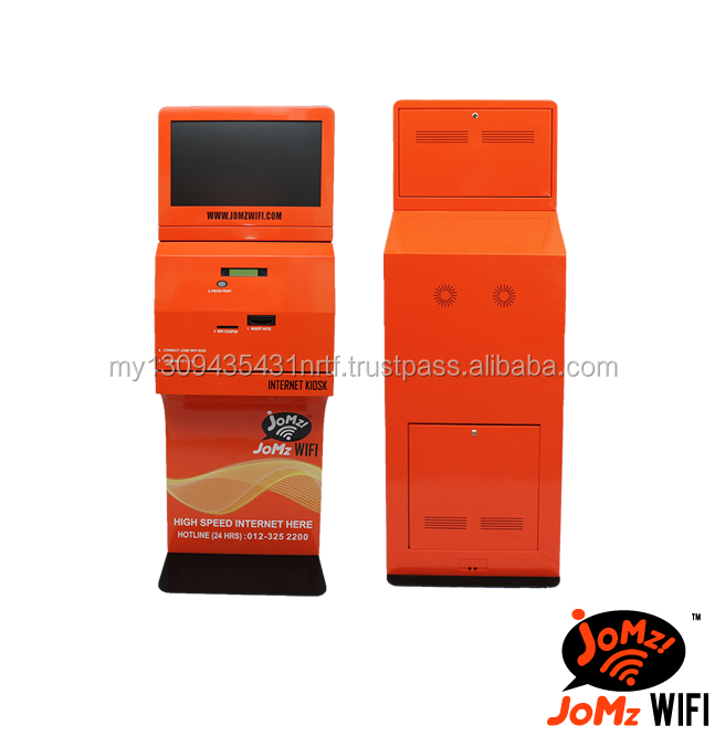 best quality OEM digital advertising information screen wifi vending coupon machine