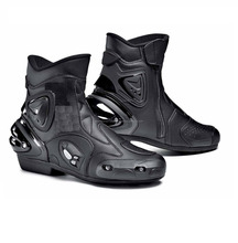 SHORT STYLED MOTORCYCLE SPORTS BIKE STUNTER BOOTS