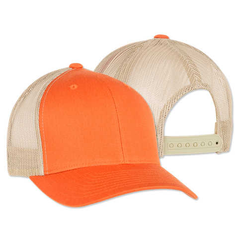 advertising promotional product custom logo branded sports mesh trucker cap