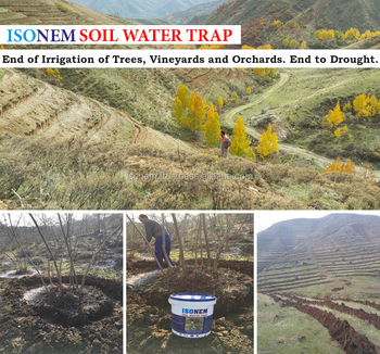 ISONEM SOIL WATER TRAP - Super Water Absorbent for Agriculture use for Plants, Tree, Grass, Water Retention Polymer
