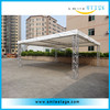 truss popular new design outdoor vertical banner stand, exhibition display