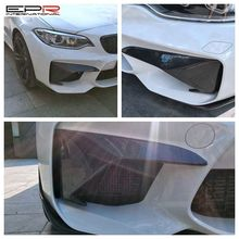 For F87 M2 ST-Style Front Bumper Add On (For Real M2)
