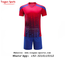 Wholesale Blank New Design Custom Football Sublimation soccer uniforms