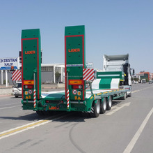 2 - 10 Axles Low Bed Semi Trailer