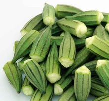 iqf fresh frozen okra and frozen vegetables okra cheap prices