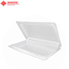 Disposable Plastic Packaging Containers BOPS Plastic Clamshell Food Fruit Vegetable Packaging