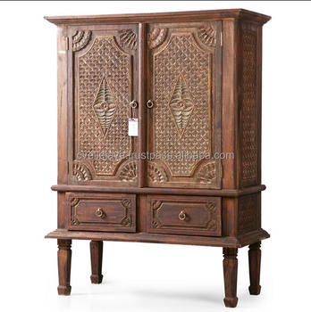 Solid wooden Antique Furniture Hand Carving antique Style Console Table