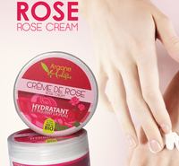 100% Organic Cosmetic Rose Anti Aging Beauty Cream 80g with private Label in Bulk