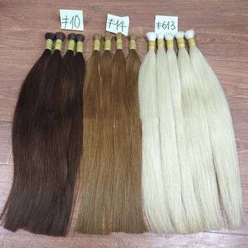 100% Human Hair Wholesale Human Hair Extension Color 1 To Color 14
