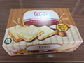 Lipo cream cracker pack in box 100g - Delicious Halal biscuit from Vietnam