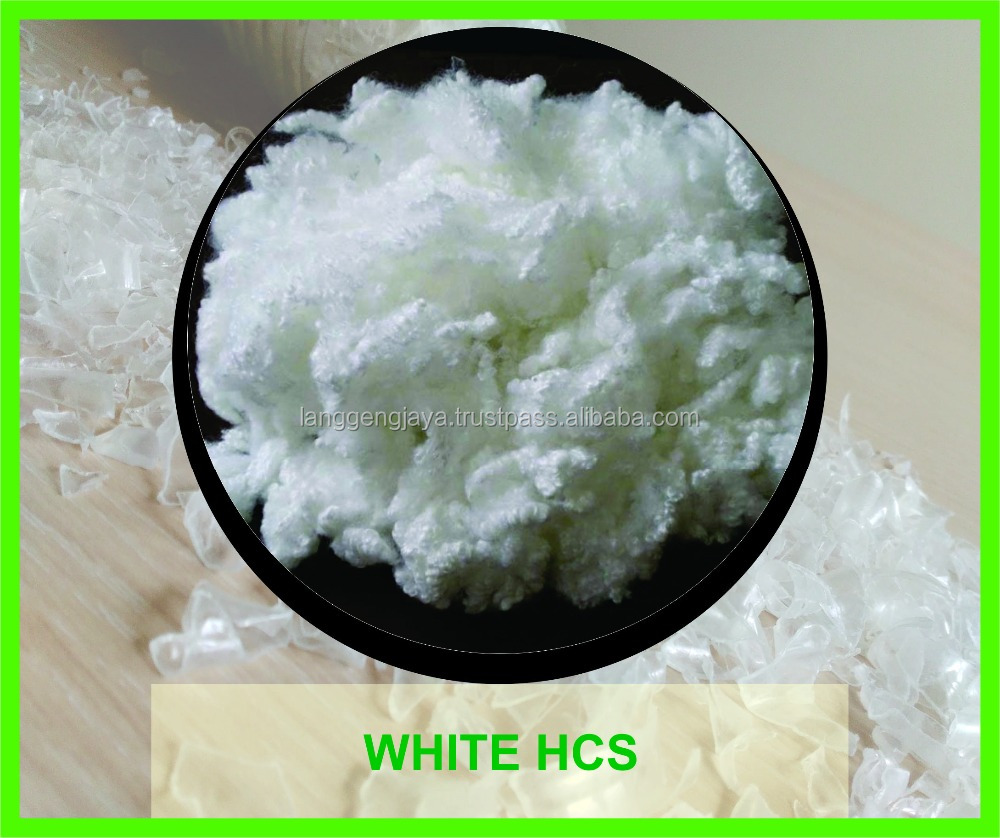 Polyester Staple Fiber or Hollow Conjugated or Hollow Conjugated Silicone or Solid