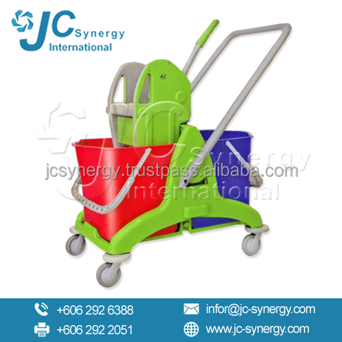 DB8075 Double Mop Bucket Janitorial Equipment Malaysia