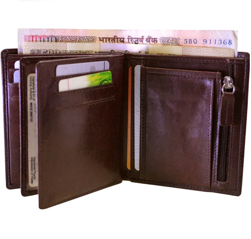 High-quality new style RFID blocking PU leather men's rfid wallet