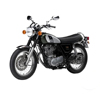 Motorcycle Yamahx SR 400cc Racing Bike motorcycle sport bike on road