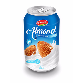 Almond milk High quality almond milk drinks suppliers for canned 330ml