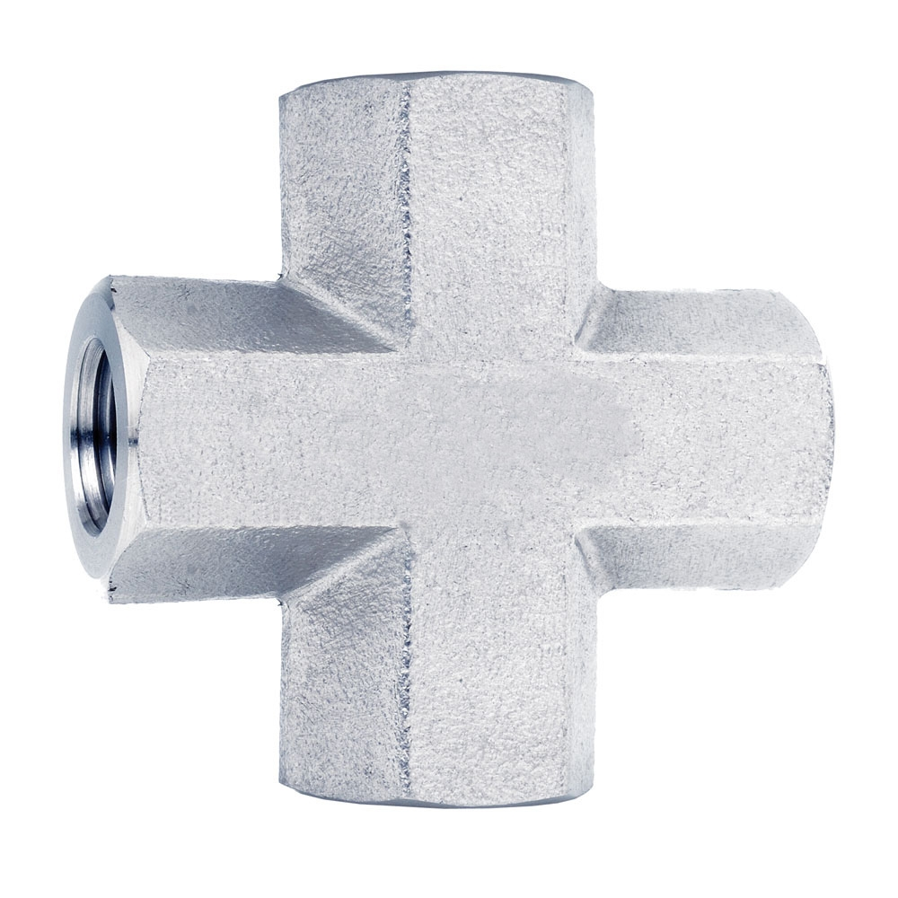 Monel K500 Compression Tube Fittings Female Cross