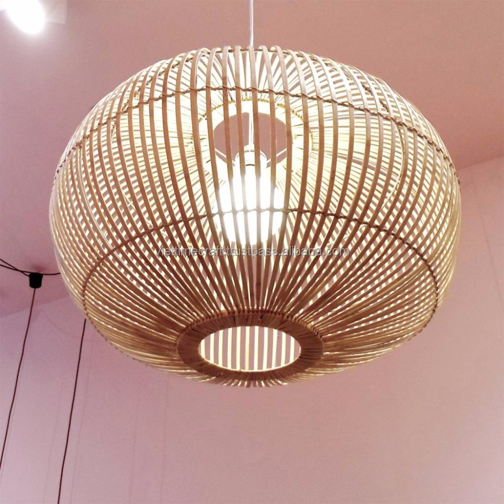 Bamboo lamp, pendant light