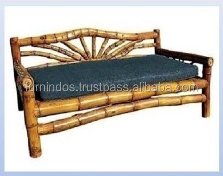 """Bamboo Antique Bench""Bamboo Furniture"""