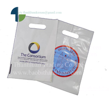 HDPE Supermarket Common Cheap Price printed logo Plastic Shopping Bag