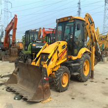 used JCB 3cx backhoe loader in Shanghai stock cheap price JCB 3CX for construction