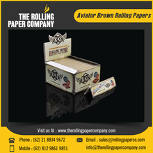 13 GSM Brown Color Rolling Papers for Smoking