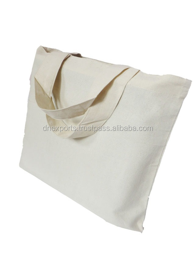 Custom Printed Cotton Calico bags