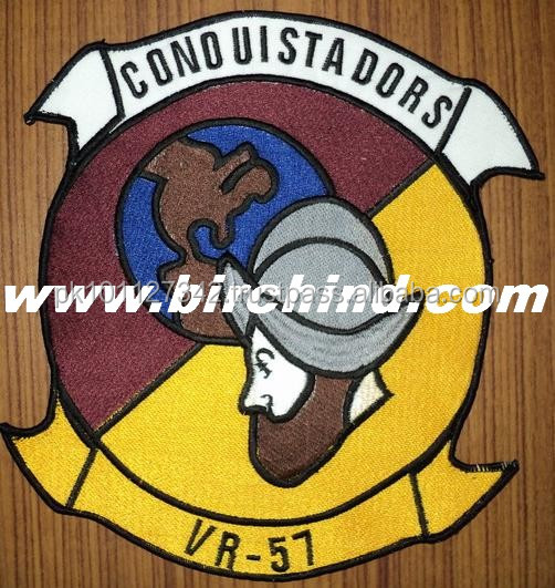 Machine embroidery patches/badges