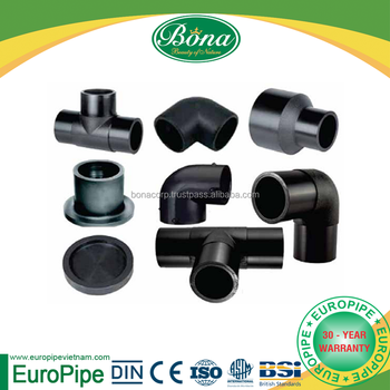 Molded HDPE fitting Cap, Stub Flange longevity more than 50 years
