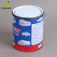 Round MetaL Tins Small Empty Paint Can with lid