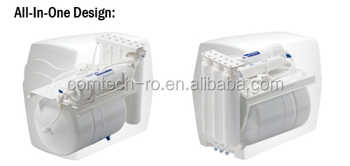 Compact 6 Stages R.O. Water Filtration Purification With UV Sterilizer