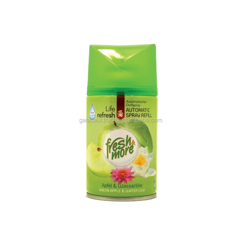Fresh & More Refill Automatic Air Freshener - Green Apple & Water Lily