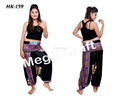 Indian Trousers Dressy Casual pants- Indian New Alibaba Silk Harem Trouser Pants For Women- Aladdin Indian harem pants