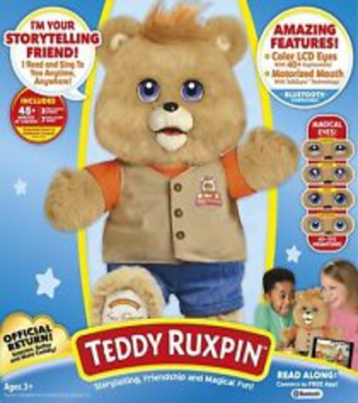 Original New 2017 Teddy Ruxpin Official Return of the Storytime and Magical Bear