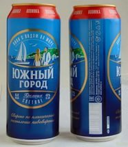 """Southern City"" russian lager beer"