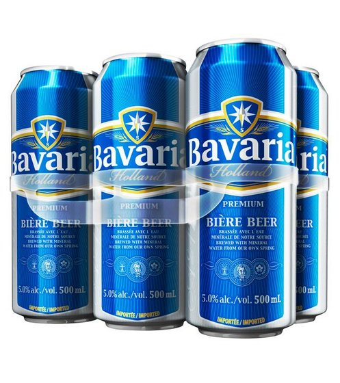 Buy Bavaria Non-alcoholic Beer 330ml X 24 cans for sale.