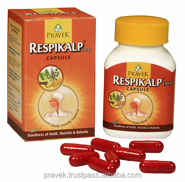 Herbal Antimicrobial treatment capsules of upper respiratory tract infection