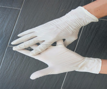 Latex Examination gloves with Powdered