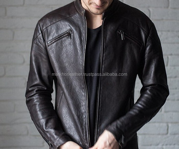 Mens leather jacket, biker jacket, motorcycle jacket mens