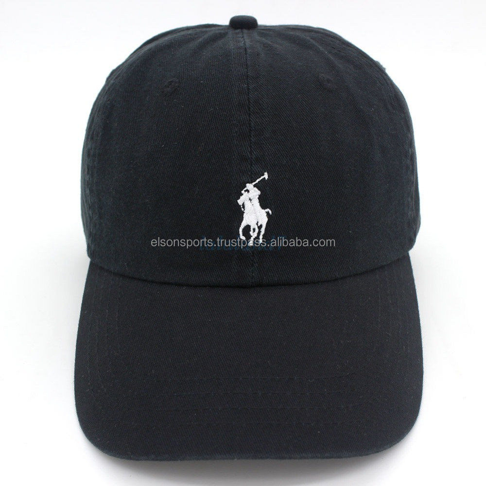 Custom Embroidery Polo Baseball Cap